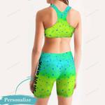 Fishing Women's Sport Bra + Biker Short KH19042114