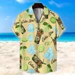 Cuba Libre Light Yellow Unisex Hawaii Shirt+ Beach Short KH28042122