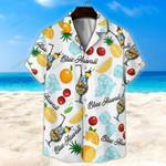 Blue Hawwai Unisex Hawaii Shirt+ Beach Short KH29042106