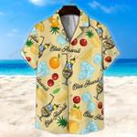 Blue Hawwai Unisex Hawaii Shirt+ Beach Short KH29042109