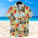 Strawberry Mojito Unisex Hawaii Shirt+ Beach Short KH29042113