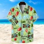 Strawberry Mojito Unisex Hawaii Shirt+ Beach Short KH29042114