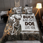 Personalized Hunting Bedding Set CH10052109