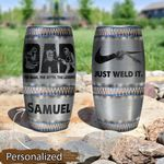 Welding_Dad The Legend Stainless Steel Tumbler KH12052109
