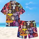 Mushroom Unisex Hawaii Shirt+ Beach Short CH24052105