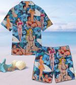 Sexy Unisex Hawaii Shirt+ Beach Short CH26052103