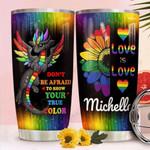 Dragon LGBT Custome Name Tumbler VU07062104