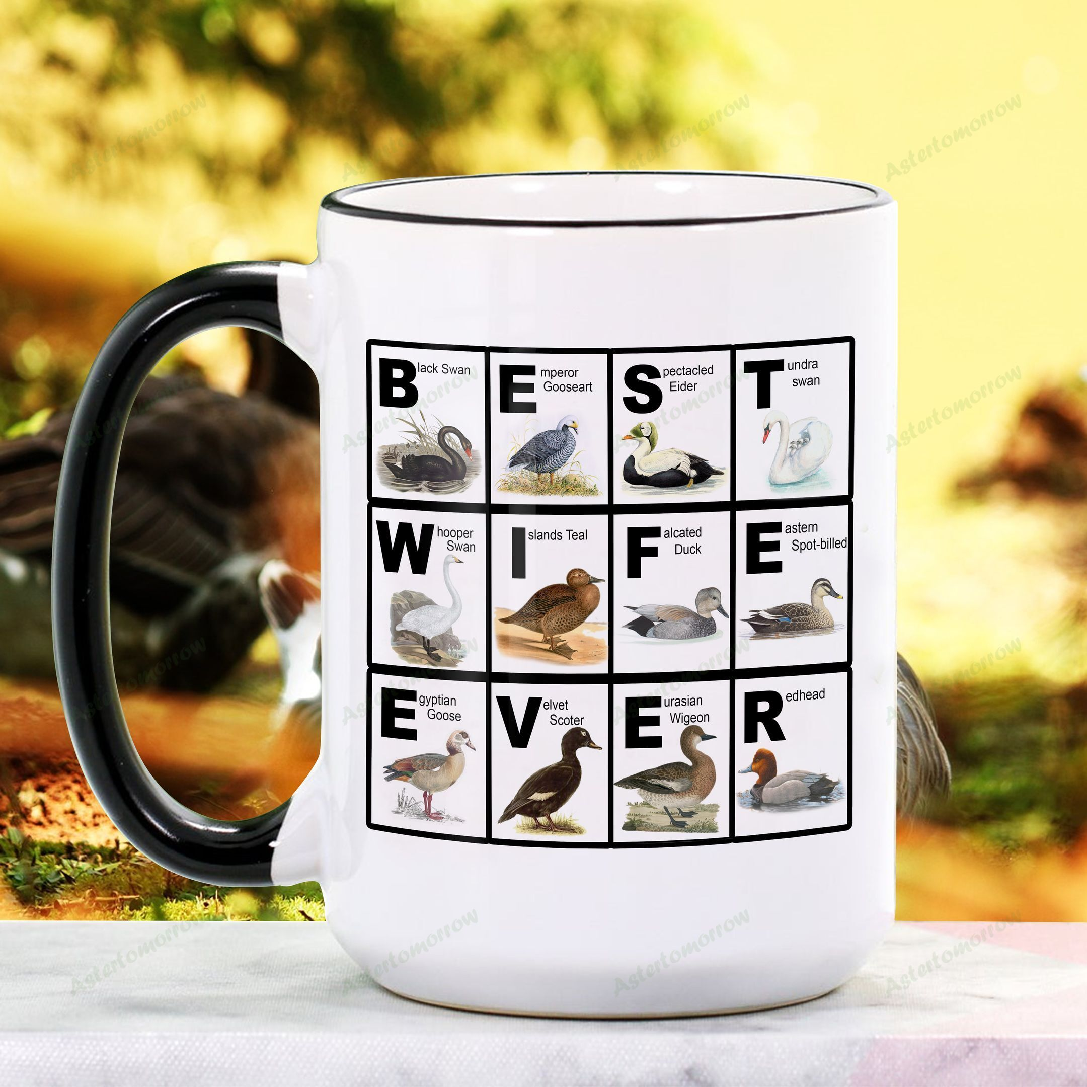 Mother S Day Gift Best Wife Ever Waterfowl Ceramic Mug Kh16032111 Aster Tomorrow