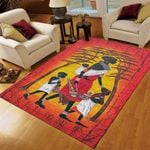 African Woman Mom And Child Rug GB28725 FLLC0808