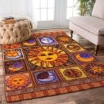 Hippie Sun And Moon Rug TTVNHTS DNNTVN