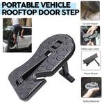 Portable Vehicle Rooftop Door Step