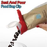 Seal And Pour Food Bag Clip