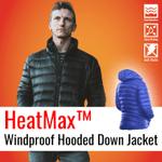 HeatMax™ Windproof Hooded Down Jacket