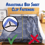 Adjustable Bed Sheet Clip Fasteners (4PCS)