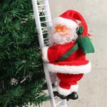 Funny Climbing Santa