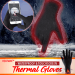 HeatMax™ Waterproof Touchscreen Thermal Gloves