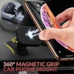 360° Magnetic Grip Car Phone Mount