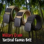 Military Grade Tactical Canvas Belt