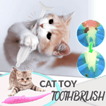 Cat Toy Toothbrush