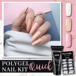 PolyGel Quick Nail Kit