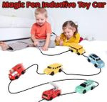 Magic Pen Inductive Toy Car
