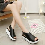 Comfy Round-Toe Sandals