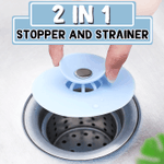 2 in 1 Stopper & Strainer
