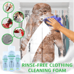 Rinse-Free Clothing Cleaning Foam