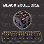 Black Skull Dice