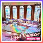 Vivid Rainbow Window Film