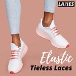 LAZIES Elastic Tieless Laces