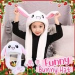 Funny Plush Rabbit Hat