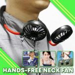 Hands-Free Neck Fan