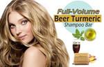 FULL-Volume Beer Turmeric Shampoo Bar