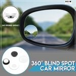 360° Blind Spot Car Mirror (2pc)
