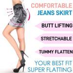 Premium Denim Jean Skirt