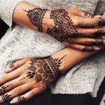 Henna Cone Temporary Tattoo