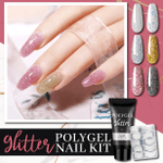 Glitter PolyGel Nail Kit