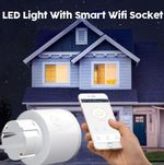 LED Light With Smart Wifi Socket