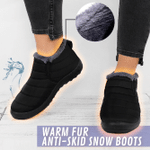 Warm Fur Anti-Skid Snow Boots