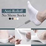 Anti-Rolloff No Show Socks (3 Pairs)