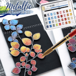 Vibrant Metallic Watercolor Set