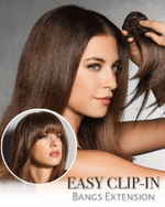 Easy Clip-In Bangs Extension