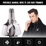 Portable Nose & Ear Hair Trimmer