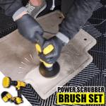 Power Scrubber Brush Set
