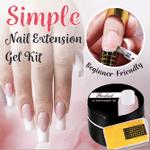 Simple Nail Extension Gel Kit