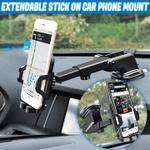 Extendable Stick On Car Phone Mount