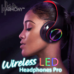 HARMONY™ Wireless LED Headphones Pro