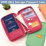 RFID Ultra Storage Passport Case