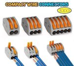 Compact Wire Connectors (30 pcs)